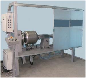 Установка АС305-2 для МИГ/МАГ-сварки цилиндрических изделий одновременно двумя горелками