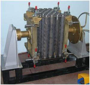 Пример приспособления к установке АС307  для сборки-сварки изделий.