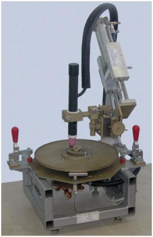 Установка АС313 для ТИГ-сварки кольцевых швов малых диаметров
