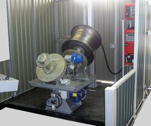 Установка АС339 для МИГ/МАГ-сварки кольцевых швов (автомобильных колес)