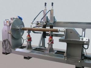 Установка АС354-2 для наплавки цилиндрических и конических поверхностей двумя горелками