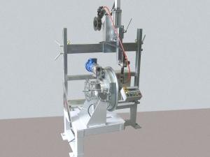 Установка АС399 для ТИГ-сварки кольцевых швов