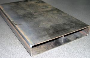 Внешний вид дымогарной трубы сваренной на установке АС336