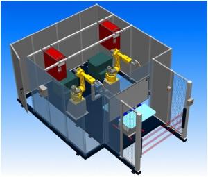 Компоновка робототезнического комплекса РК752-2 производства НАВКО-ТЕХ