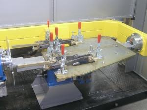 Робототехнический комплекс РК755. Оснастка сборочно-сварочная
