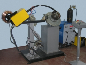 Установка УДС711 для МИГ/МАГ-сварки автомобильных колес