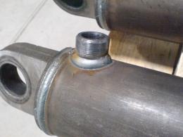 Корпуск гидроцилиндра сваренного на установках АС305-1 и АС360