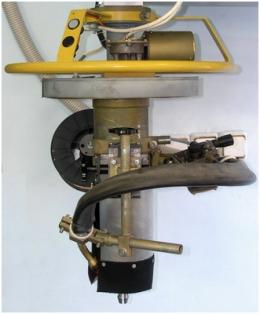 Сварочная головка установки АС307 для сварки кольцевых швов