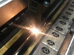Лазерная сварка оцинкованной стали на установке АС333