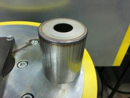 Кольцевой шов сваренный на установке АС399-С1