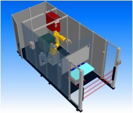 Компоновка робототезнического комплекса РК752 производства НАВКО-ТЕХ