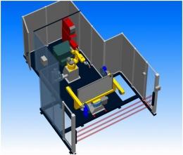 Компоновка робототезнического комплекса РК755 производства НАВКО-ТЕХ
