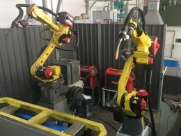 Комплекс РК754-2 для сварки двумя роботами
