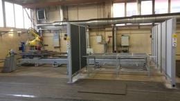 Двухпозиционгный робототехнический комплекс РК759 для сварки габаритных конструкций