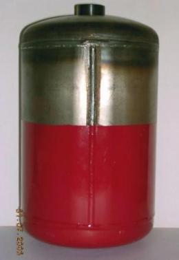 Кольцевые швы изделия сваренные на установке АС305-2